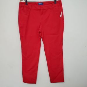 NWT Old Navy Red Pixie Pants, sz 14